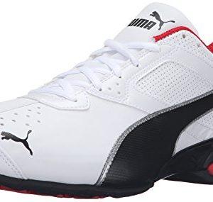 PUMA Mens Tazon 6 FM Puma White/ Puma Black/ Puma Silver Running Shoe - 8.5 D(M) US