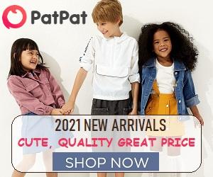PatPat.com rend l'équipement de vos enfants facile et amusant!